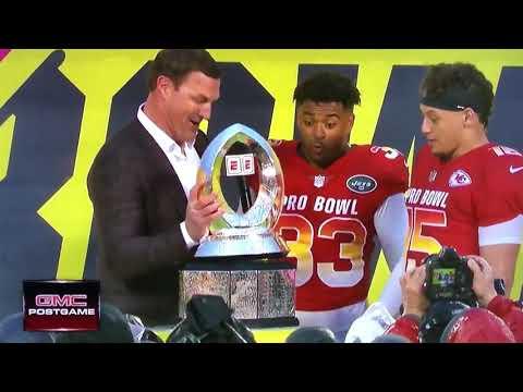[Highlight] Jason Witten Breaks The Pro Bowl Trophy