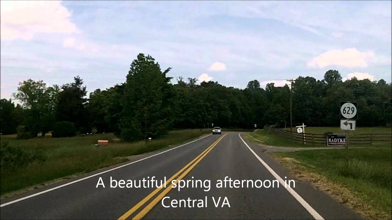 Route 522 Virginia Map.Us Route 522 In Virginia From Gum Spring To Mineral Youtube