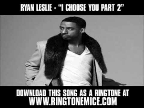"Ryan Leslie - ""I Choose You Part 2"" [ New Video + Lyrics + Download ]"