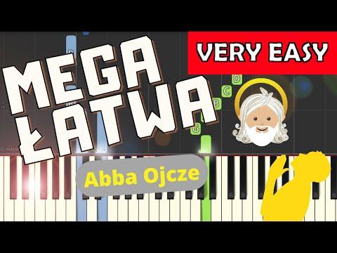 🎹 Abba Ojcze - Piano Tutorial (MEGA ŁATWA wersja) 🎹