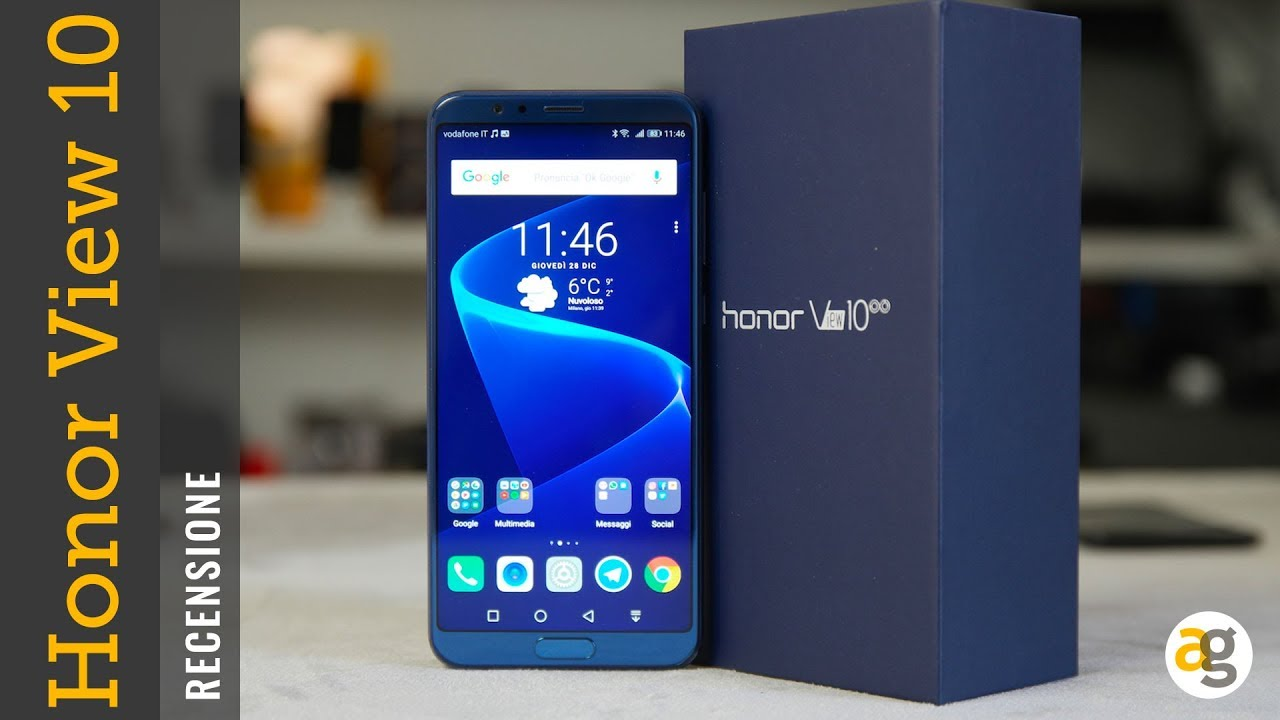 honor view 10 lite recensione androidworld