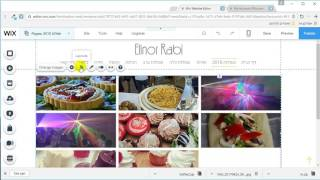 בניית אתר וויקס - וויקסר (wix video) - ניהול גלריות בוויקס