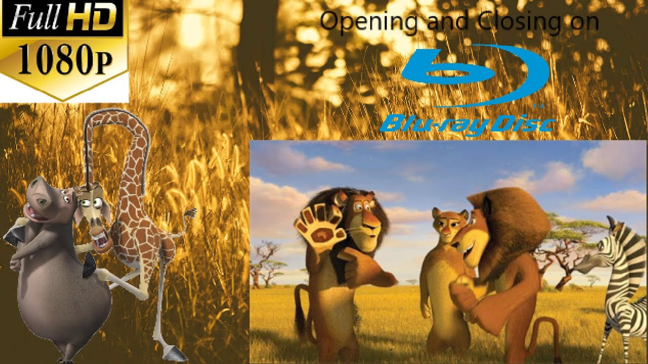 Download Opening and Closing to Madagascar: Escape 2 Africa 2009 Blu-ray disc (Full HD 1080P)