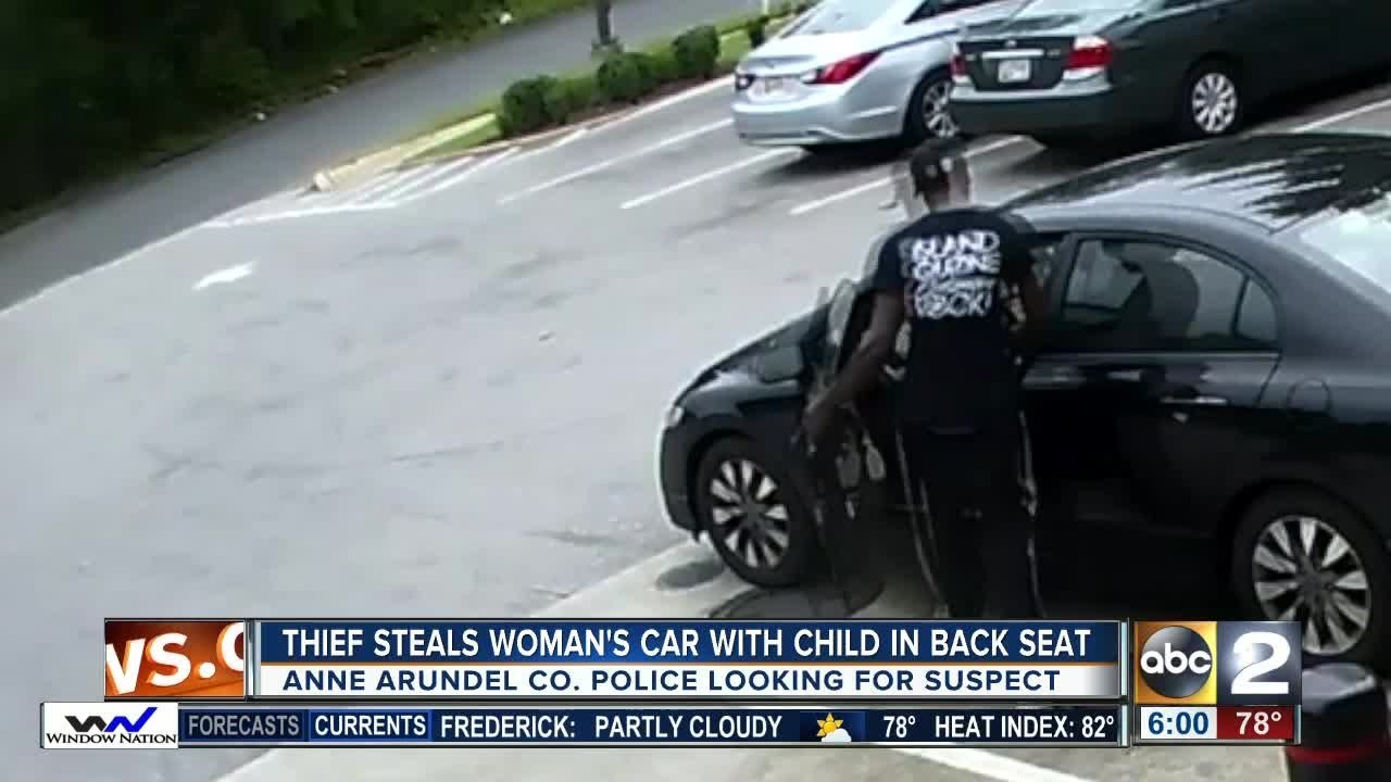 Thief steals car with five-year-old in back seat in Glen Burnie ...