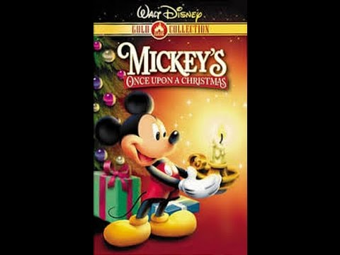 opening to mickeys once upon a christmas 2000 vhs - Mickeys Once Upon A Christmas Vhs