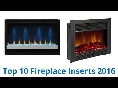 10 Best Fireplace Inserts 2016