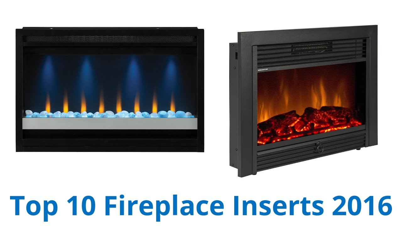 10 Best Fireplace Inserts 2016 - YouTube