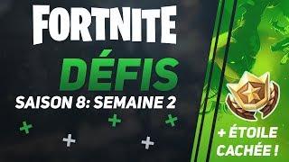 GUIDE SAISON 8: DÉFIS SEMAINE 2 + BANNIÈRE CACHÉE ∗ Fortnite: Battle Royale