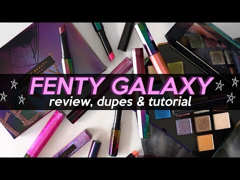 FENTY GALAXY COLLECTION: WHAT'S WORTH PICKING UP?! & Dupes! | Jamie Paige