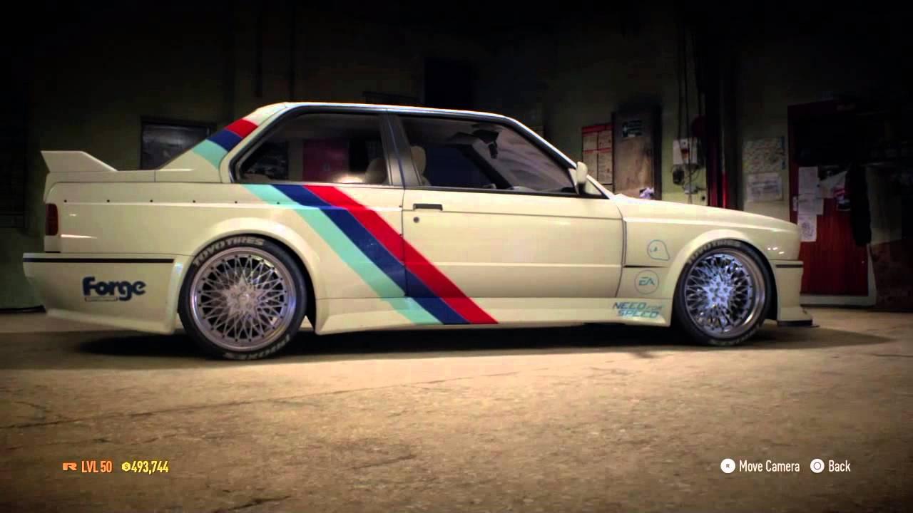 Need for Speed  My Custom BMW M3 Evolution II E30 1988  YouTube