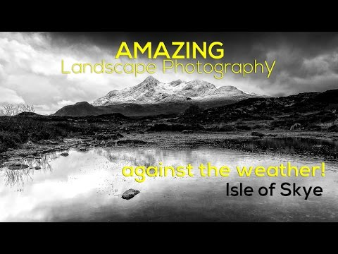 AMAZING Landscape Photography - Against the weather!