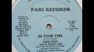 Junior Biggs - In Your Eyes - 12 inch - 1988