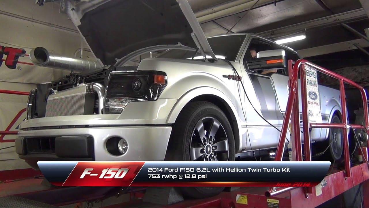 Hellion Twin Turbo 2014 F150 12 psi