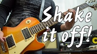 Taylor Swift - Shake It Off | electric guitar cover (instrumental & backing track)