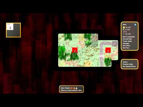 Indie Test Drive: Conquest of Elysium 3 (Turn-based Fantasy Strategy)