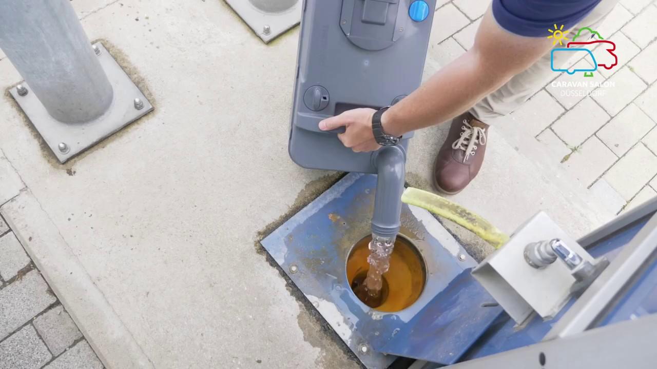 CARAVAN SALON Düsseldorf StarterWelt - Technik: Wasser, was gibt es zu beachten?