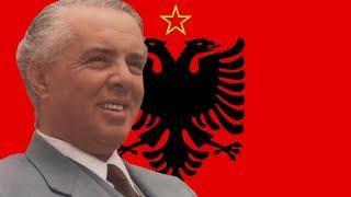 Enver Hoxha Tungjatjeta Long Live Enver Hoxha (English Lyrics)