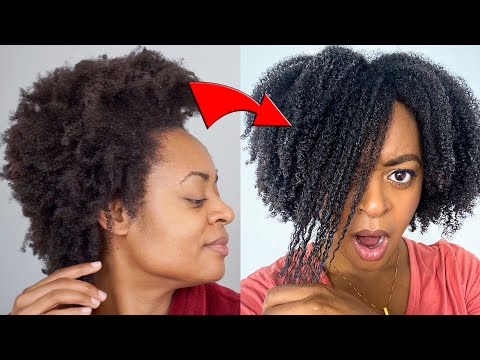 I Tried a WASH N GO on 4C HAIR Everyday For A WEEK *I'M SHOcKed!*