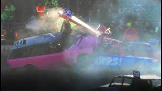 King's Lynn Icebreaker XXVII Crash Highlights: Unlimited Banger Racing 2020