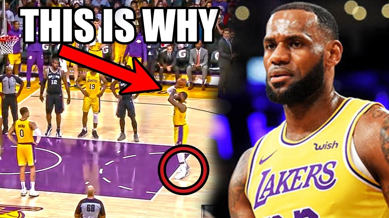 The REAL Reason Why LeBron James CAN T Make Free Throws (Ft. Missed NBA  Clutch Shots b8ad5f41f