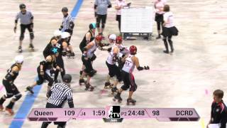 WFTDA Roller Derby: 2014 Division 2 Playoffs, Kitchener: Queen City vs. Demolition City