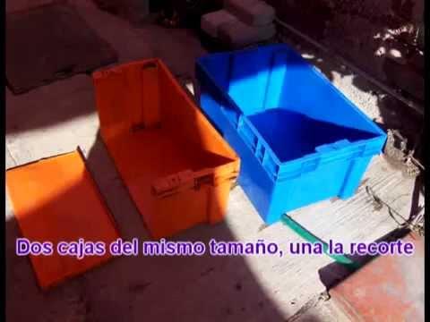 Estanque 24 agosto filtro casero funciona perfecto doovi for Filtro casero para estanque