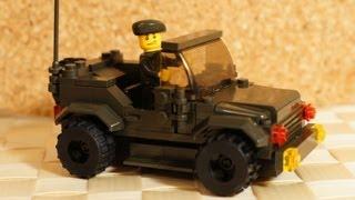 Военное LEGO - Конструктор SLUBAN