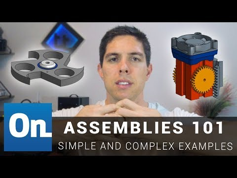 Onshape Assemblies 101 – Beginner and advanced examples