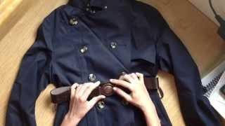 Comprei Mostrei: trench coat estilo equestre!