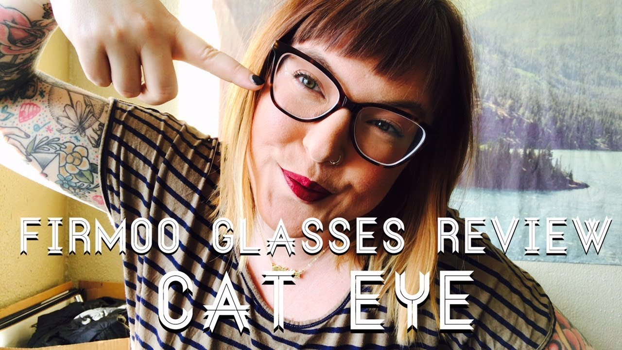 121fcbad19 Firmoo Glasses Review Cat Eye Edition! - YouTube