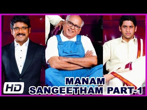 Manam - Latest Telugu Movie Sangeetham Celebration Part-1 - ANR,Nagarjuna,Samantha(HD)