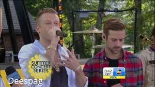 Macklemore Ryan Lewis White Walls GMA Good Morning America HD