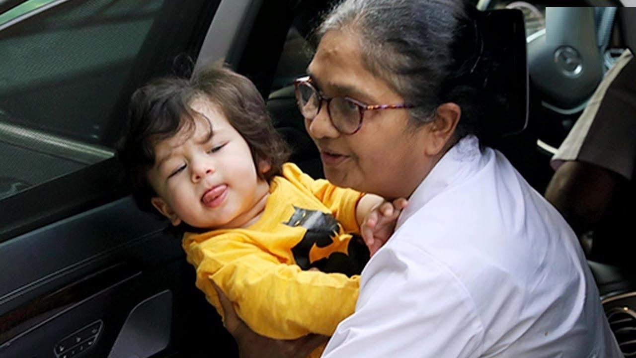 Image result for taimur ali khan nanny