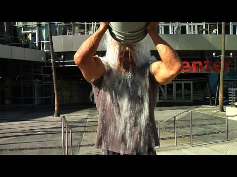 "Triple H takes the ""Ice Bucket Challenge"""