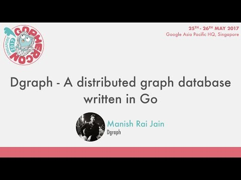 Dgraph — A Distributed, Fast Graph Database