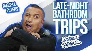 Late-Night Bathroom Trips  Russell Peters - Almost Famous