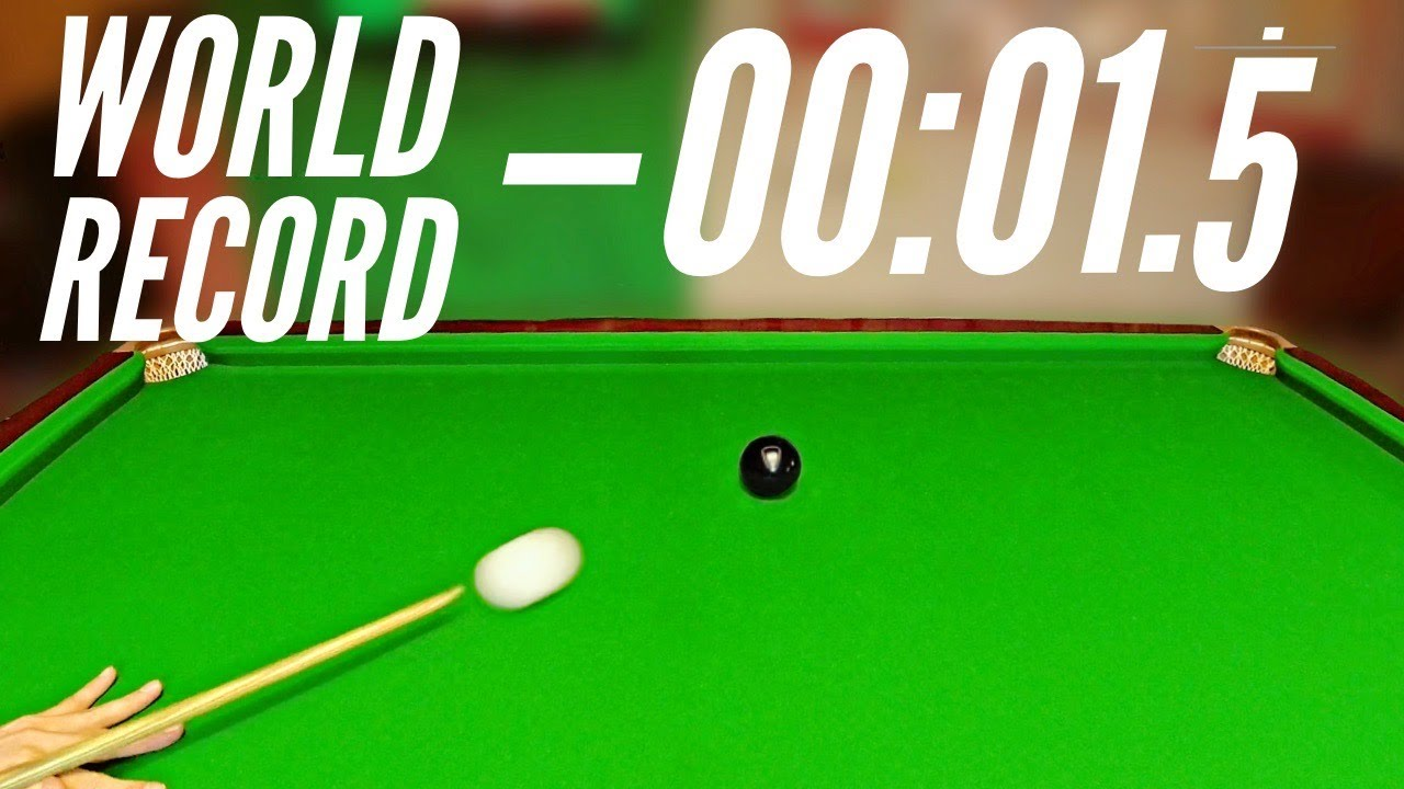 Snooker Colour Clearance World Record Attempt