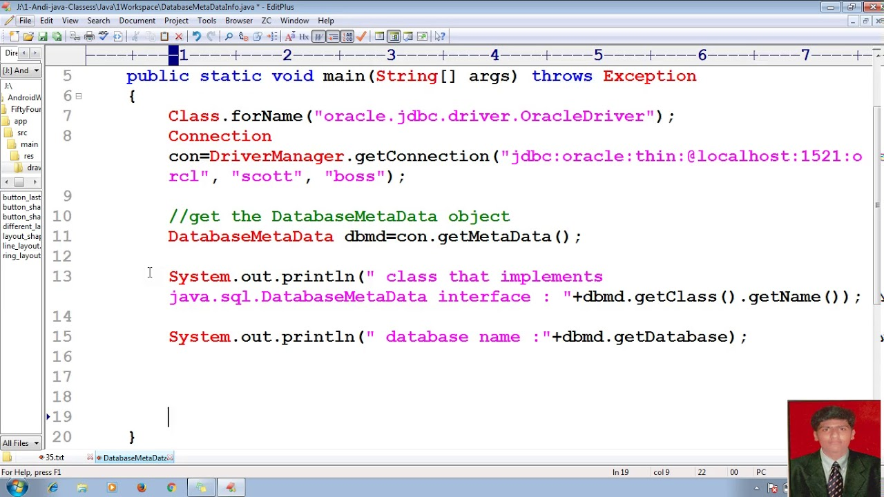 Java database connection tutorial images any tutorial examples 71 advanced java tutorial jdbc databasemetadata java 71 advanced java tutorial jdbc databasemetadata java database connectivity baditri Images