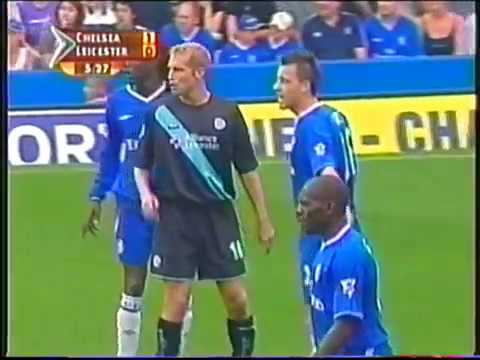 Chelsea vs Leicester City-Premier League 2003-Full match-English audio.