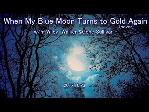 when my blue moon turns to gold again(cover)