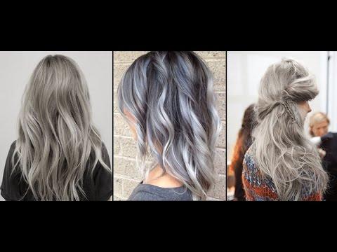 Как покраситься в серый или седой цвет волос дома