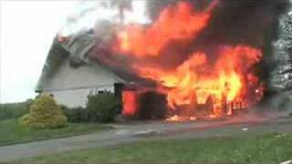 Fire Department Burns Down House
