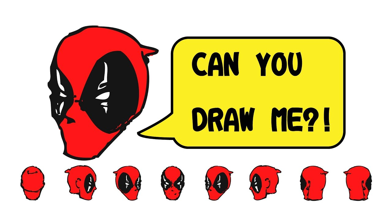How to draw deadpool you can draw this youtube for A website where you can draw