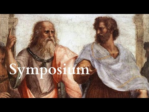 Plato | Symposium - Full Audiobook With Accompanying Text (AudioEbook)