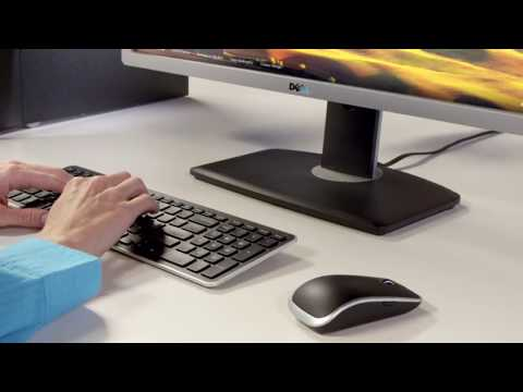 Dell Wireless Keyboard And Mouse Combo Removes Desk Clutter