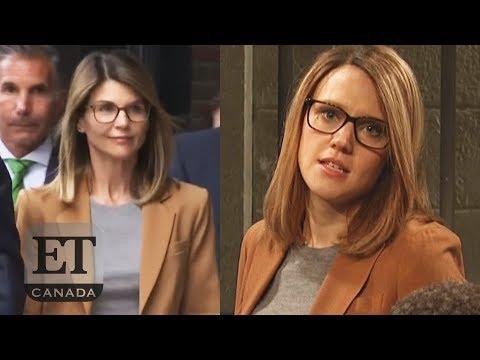 Lori Loughlin Pleads Not Guilty, 'SNL' Parody