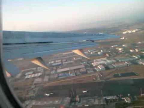 Tangier Takeoff - Atlas Blue 737 - الخطوط الملكية المغربية
