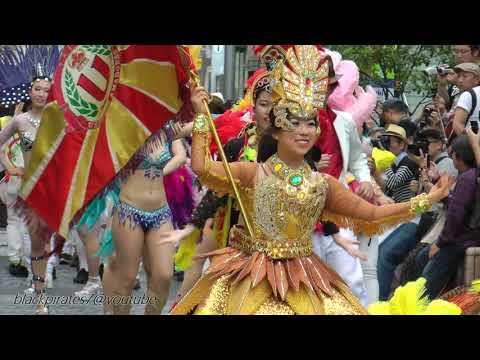 ウニアンドスアマドーリス2018@静岡 シズオカサンバカーニバル SAMBA CARNIVAL (サンバカーニバル)