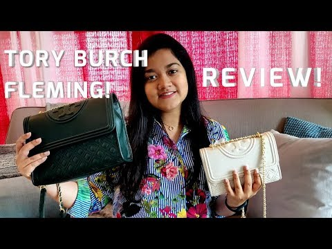 Tory Burch Convertible Fleming Shoulder Bag   Review