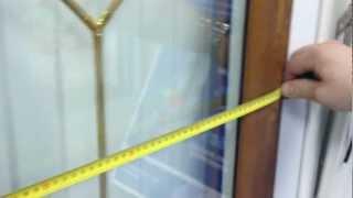 Как правильно замерить москитную сетку (1 способ)